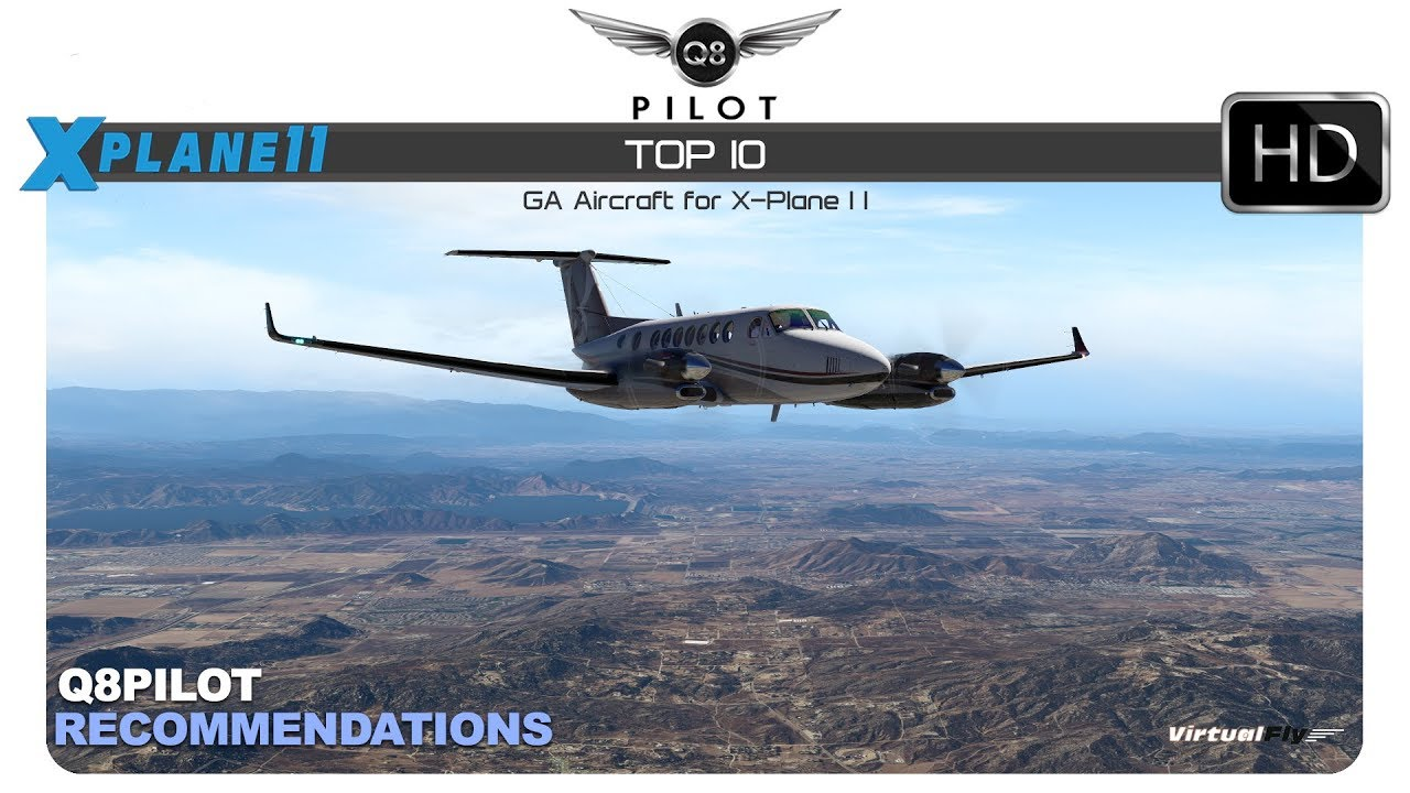 Top 10 General Aviation Aircraft For X Plane 11 Youtube