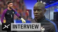 Frankreich: Duo glücklich über Unterzahl-Sieg | Frankreich - England 3:2 | Freundschaftsspiel
