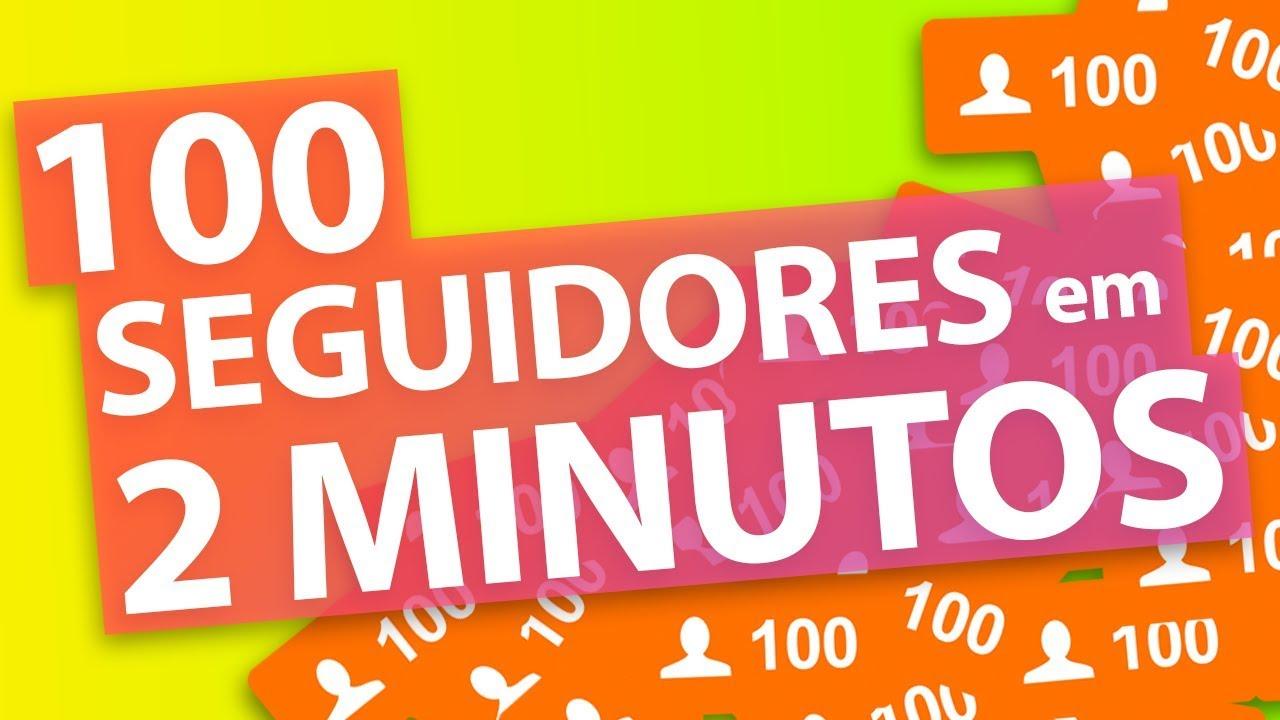 73f29c91a7 Como Ganhar 100 Seguidores no Instagram em 2 Minutos! - YouTube