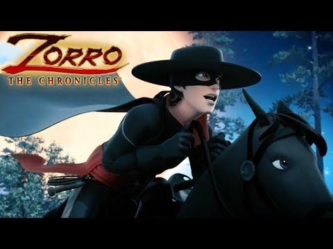 Les Chroniques de Zorro | Episode 16 | LE COMPLOT | Dessin de super-héros