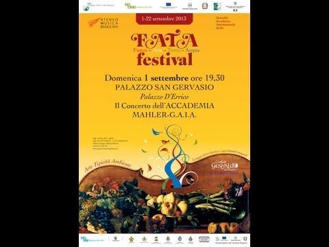 TGR Basilicata conferenza stampa presentazione concerto 1 settembre 2013