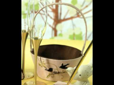 Love Bird Wedding Theme Ideas and Accessories for Your Wedding Ceremony