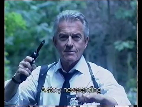 Nigel Barber as 'The Agent' in 'The Hardest Thing To Do'.  Video for 'The  Partisan'