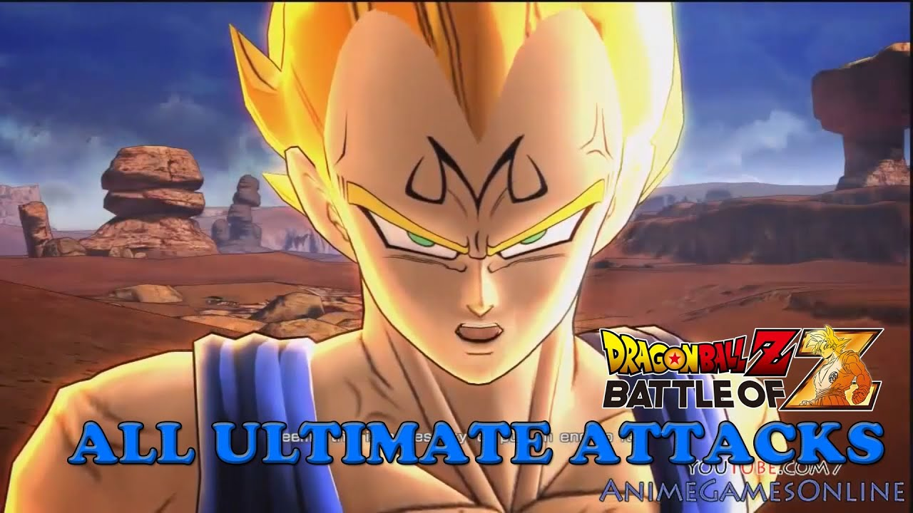 cc4df8c8 Dragon Ball Z Battle of Z All Ultimate Attacks - YouTube