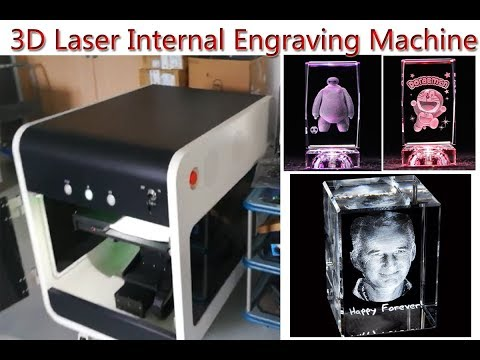 3D Laser Internal Engraving Machine for Crystal