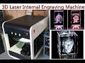 3D Laser Internal Engraving Machine for Crystal