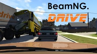 BeamNG. Drive - Dashcam Crashes Compilation 17 [Real Voices]
