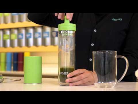 How to make a matcha green tea latte - davidstea