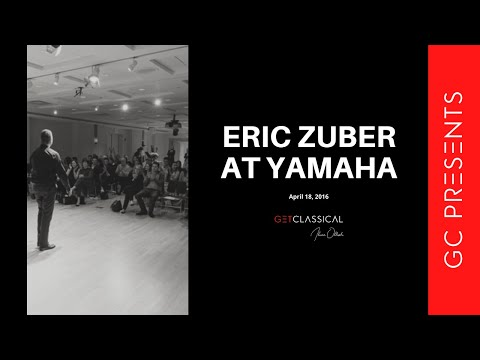 Get Classical Presents Eric Zuber at Yamaha Artist Services