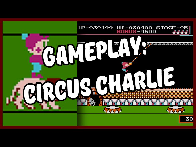 Circus Charlie - Hack de Super Mario?