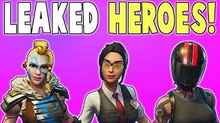 5 LEAKED Heroes In Patch v5.20! Paintball Hero, Street Racer, & More! | Fortnite Save The World News