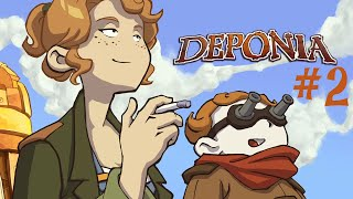 Deponia : The Complete Journey Ep.2 [Rediff LIVE] - Quartzall.