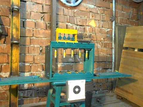Мишени для пневматики-тир в гараже