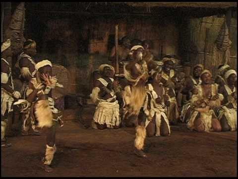 Zimbabwe Tribal Dance - Africa by Hennie Bekker