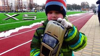 Обзор BMW X5 на радиоуправлении Машинки для детей Играем машинками Внедорожник БМВ Х5