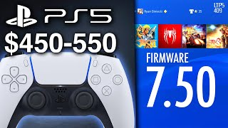 PS5 Limited Supply? Price Expected Around $450-550 | PS4 Firmware 7.50 Out Now. - [LTPS #409]
