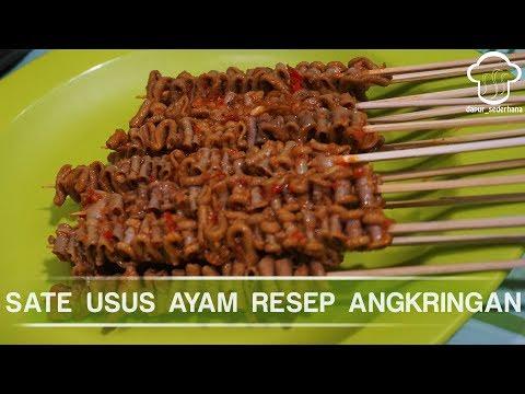 SATE USUS AYAM RESEP ANGKRINGAN I Dapur_sederhana
