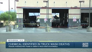Chemical Identified In Avondale Truck Wash Deaths