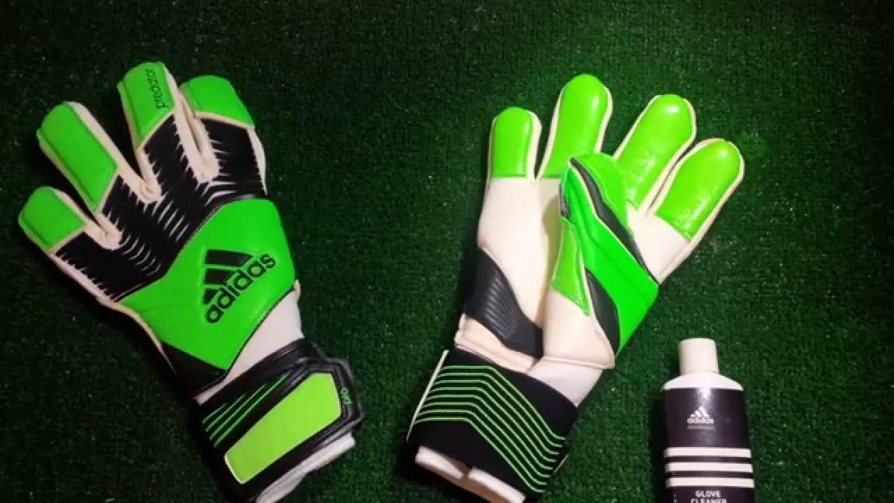 separation shoes b220c db4e9 Adidas Predator Zones Pro Goalkeeper Gloves Neon Green Preview
