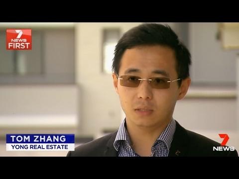 Tom Zhang has featured on 7 News – Chinese demand for Brisbane's Southern Suburb & Rochedale Estates