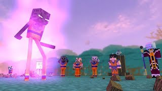 Monster School : Dragon Ball-Super-Challenge - Ultra Instinkt - Minecraft Animation