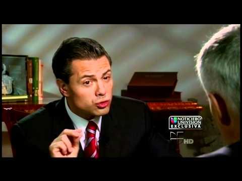 Jorge Ramos entrevista a Enrique Peña Nieto (Muerte de su esposa)