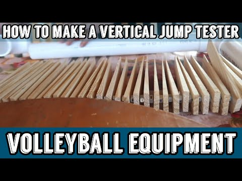 How To Make A Vertical Jump Tester