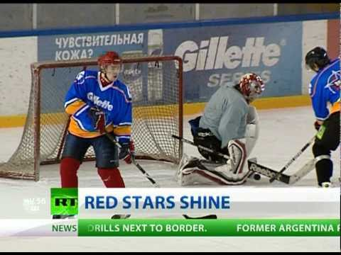 Go West Russia S Future Ice Hockey Stars To Tour Us On Week Of