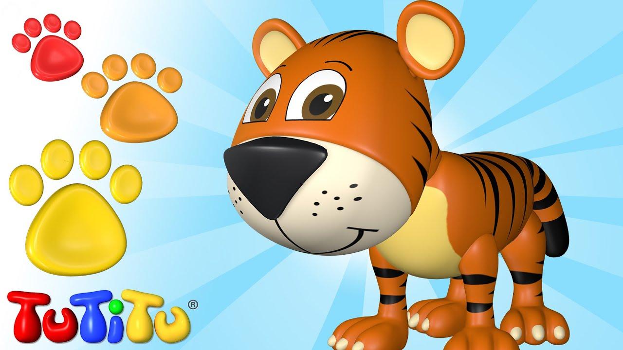 Tutitu Deutsch Tiere Auf Deutsch Der Tiger Und Andere Tiere