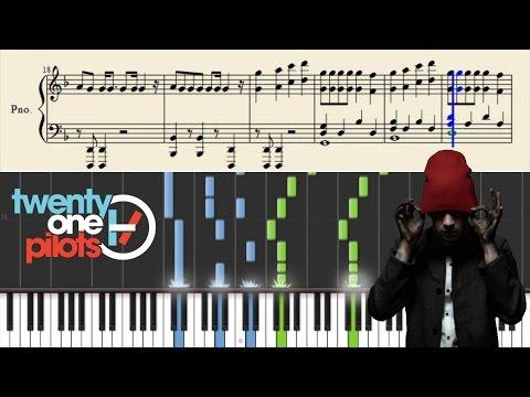 twenty one pilots: Doubt - Piano Tutorial + Sheets