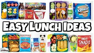 Letting YOU DECIDE our lunch 🍎 Making YOUR Lunches  (Part3)