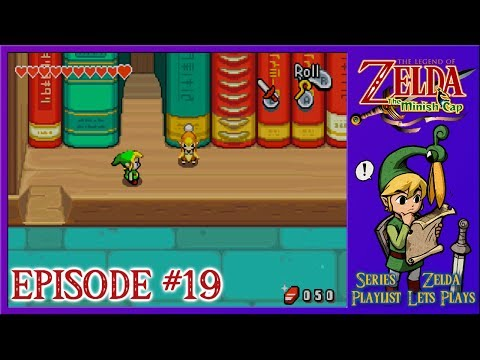 The Legend Of Zelda: The Minish Cap - Finding Elder Librari, The First Book Questing - Episode 19