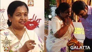 CR Saraswathy & Rangaraj Pandey : Never Seen Before Fun Moments | Galatta Nakshatra Awards