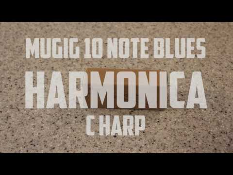Mugig 10 Note Blues Harmonica C Harp Unboxing and Review