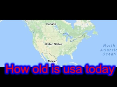 How Old Is Usa Today Information About The United States The - How old is united states