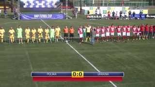 Polska vs. Ukraina - mecz o 3 miejsce Amp Futbol Cup 2014