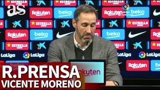 Barcelona 5-Mallorca 2   Rueda de prensa de Vicente Moreno   Diario AS