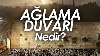 Ağlama Duvarı Nedir ? / Yahudiler Neden Ağlıyor ? / Ömer Faruk Harman / Emre Dorman