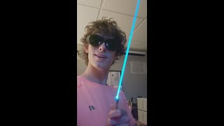 have you ever seen a cyan laser?