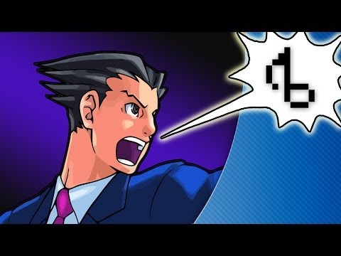 Phoenix Wright WITH LYRICS - brentalfloss