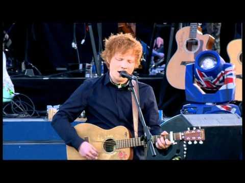 The Queens Diamond Jubilee Concert - Ed Sheeran