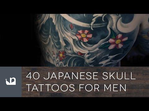 40 Japanese Skull Tattoos For Men