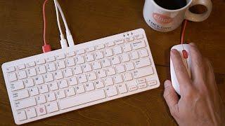 A full computer in a keyboard: Raspberry Pi 400