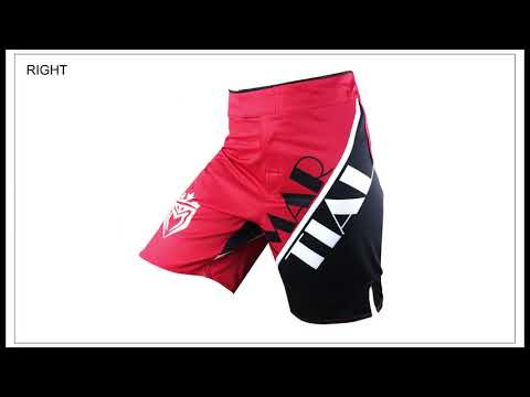 MARTIAL Brands 100%polyester MMA BOXING COMBAT SHORTS