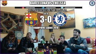BARCELONA VS CHELSEA 3-0 REACCIONES | HIGHLIGHTS | CHAMPIONS LEAGUE 2018