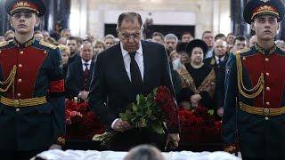 Прощание с Андреем Карловым: в Москве состоялась панихида по российскому послу, убитому в Турции