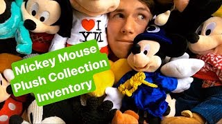Mickey Mouse Disney Plush Collection Inventory
