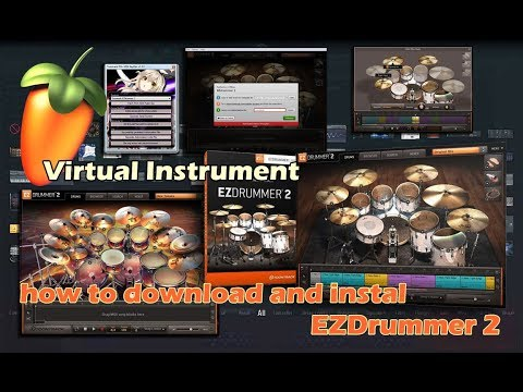 Cara Download Dan Instal -  EZdrummer 2