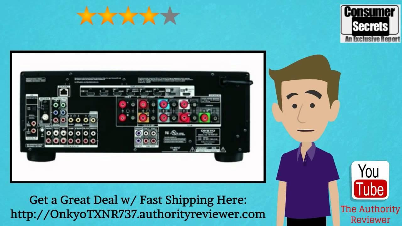 Review & SALE] Onkyo TX-NR737 7.2-Ch Dolby Atmos Ready Network A/V ...