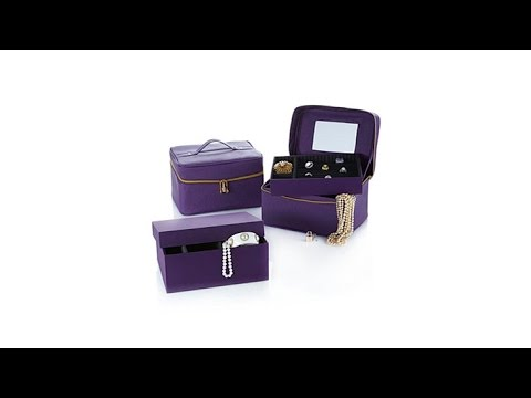 "JOY Luxurious ""Jewel Kit Trio"" Plus Large Jewel Box"